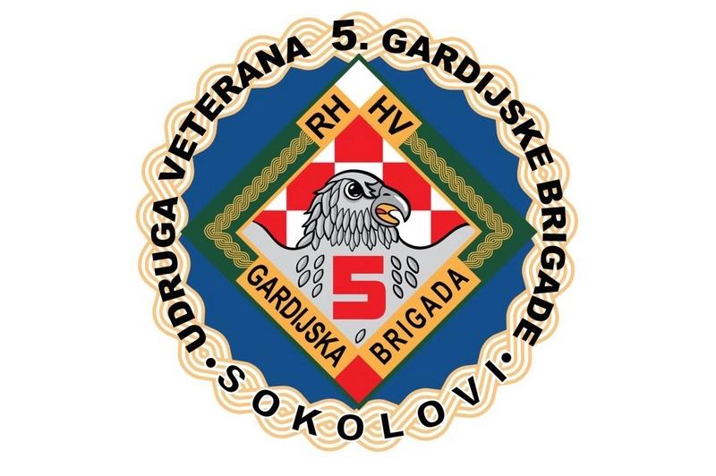"""Poziv na godišnji Izvještajni Sabor Udruge veterana 5. gardijske brigade """"Sokolovi"""""""