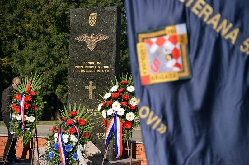 "Poziv na obilježavanje 28. obljetnice osnutka 5. gardijske brigade ""Sokolovi"""