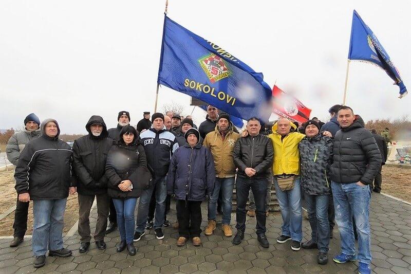 """Veterani 5. gardijske brigade """"Sokolovi"""" na obilježavanju 26. obljetnice """"VRO Maslenica 93"""""""