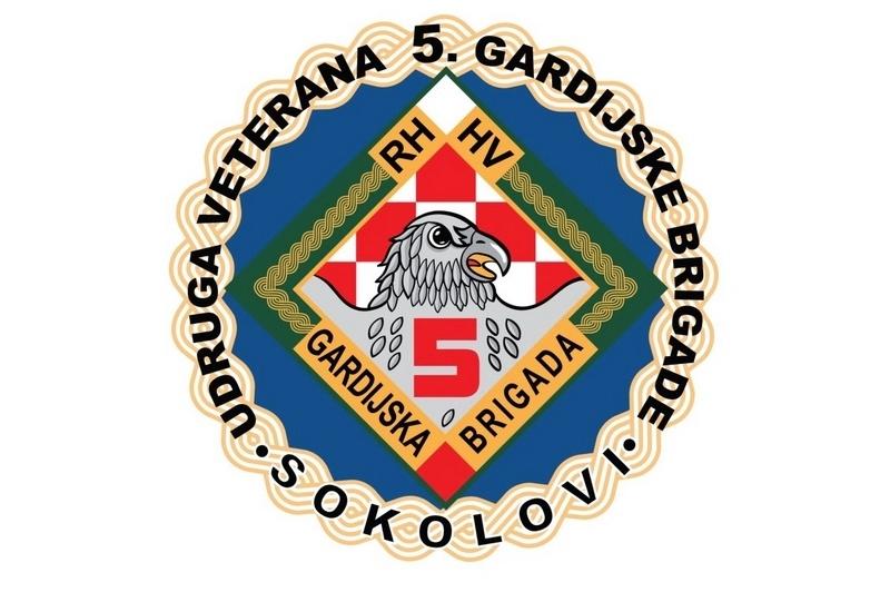 """Izvješće o radu Udruge veterana 5. GBR """"Sokolovi"""" za 2107. godinu"""