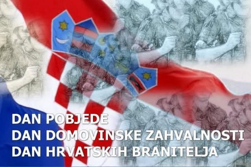 Poziv na obilježavanje Dana pobjede, Domovinske zahvalnosti i Dana hrvatskih branitelja u Kninu