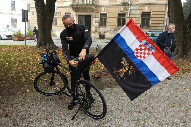 Ivica Nerer - Biciklom od Varaždina do Vukovara