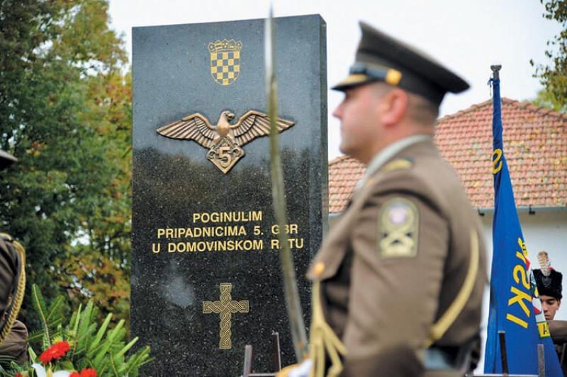 "Popis smrtno stradalih pripadnika 5. gardijske brigade HV ""Sokolovi"""