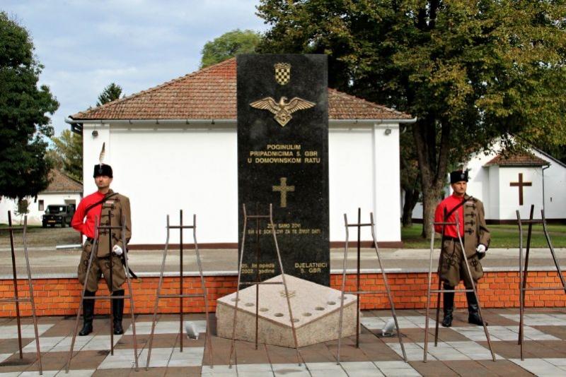 """Obilježena 27. obljetnica osnutka 5. gardijske brigade """"Sokolovi"""""""