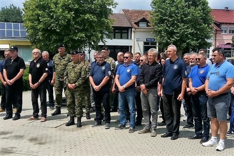"""Sjećanje na poginule pripadnike 5. gardijske brigade """"Sokolovi"""""""